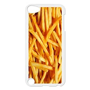 iPod 5 Case,French Fries Chips Hard Snap-On Cover Case for iPod Touch 5, 5G (5th Generation) Designed by HnW Accessories