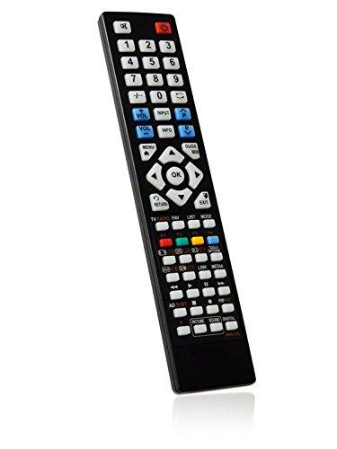 BRC3.25377 Ersatzfernbedienung speziell für SAMSUNG LCD/LED-TV UE75H6470 - bonremo®-Edition inkl. Batterien