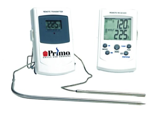 Primo Thermometer - Primo 339 Digital Remote/BBQ Thermometer