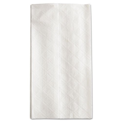 KIMBERLY-CLARK PROFESSIONAL SCOTT Tall-Fold Dispenser Napkins, 1-Ply, 7w x 13 1/2d, White, 8000/Carton