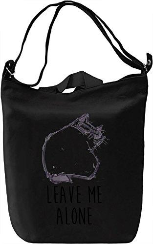 Grumpy Alone Borsa Giornaliera Canvas Canvas Day Bag| 100% Premium Cotton Canvas| DTG Printing|