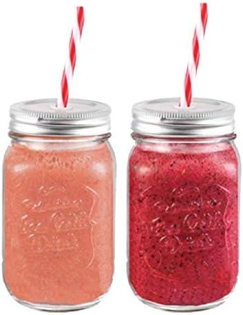 Set Two Mason Glass Straw product image