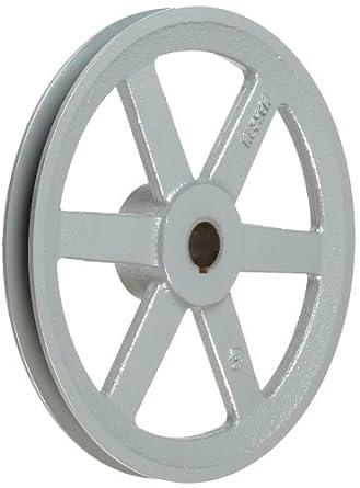 """TB Woods BK10015/16 FHP Bored-To-Size, 9.75"""" Outside Body Diameter, 0.9375"""" Bore Diameter V-Belt Sheave"""