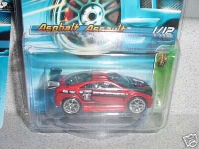 Mattel Hot Wheels 2006 Treasure Hunt 1:64 Scale Red Asphalt Assault 1/12 Die Cast Car #039