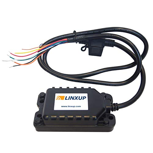 Linxup LAAA31 GPS Tracker Device, Rechargeable Backup, Tracking System for Equipment, Trailers (Best Rv Gps 2019)