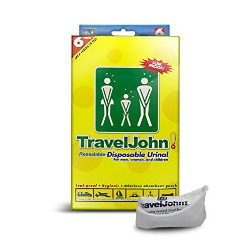Amazon Com Traveljohn Jr Disposable Urinal Bags 6 Pack