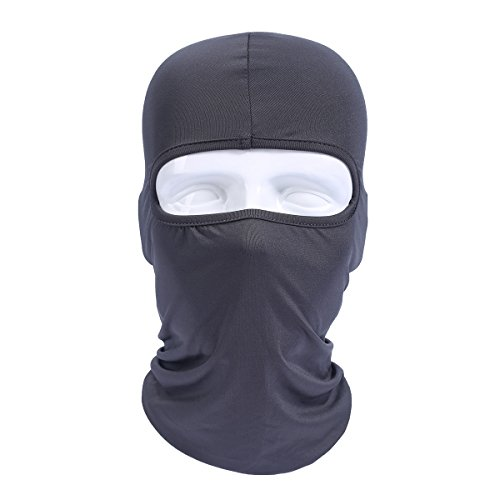 [JIUSY (2 Pack) Breathable Elastic Lycra Balaclava Windproof Ski Face Mask For Tactical Motorcycle Cycling Skiing Outdoor Sports Hiking Hunting Headwear] (Heavyweights Halloween Costume)