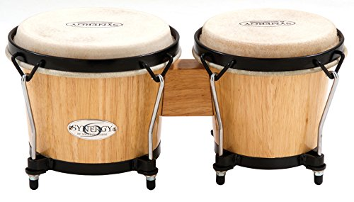 Toca Synergy Series Bongo Drums Set - Natural by Toca