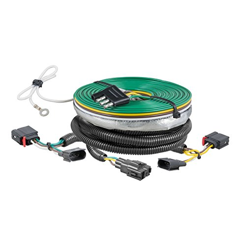 (CURT 58940 Custom Towed-Vehicle RV Wiring Harness for Dinghy Towing Select Jeep Grand)