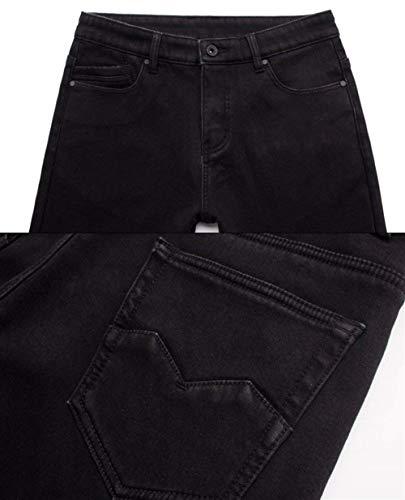 Plus Da Elasticizzati Jeans Termici Nero Fodera Addensare Denim Pantaloni Caldi Ragazzo Size Con In Pile Pesante lannister Uomo Qk Dritti EXTw5A5q