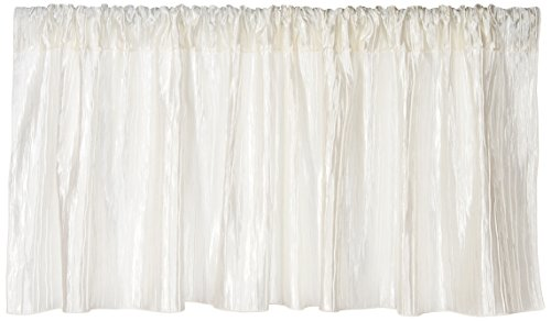 Sweet Potato Lil' Princess Window Valance, Cream/Ivory (Drapery Fabric Taffeta)