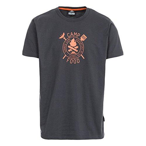 Trespass Herren Adder T-Shirt mit Aufdruck, Flint, M: Amazon.de: Sport &  Freizeit