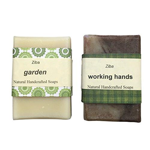 Ziba Handmade Soaps with Essential Oils (Candy Cane + Pep...