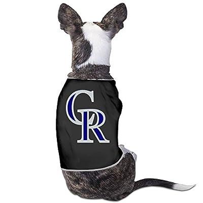 Colorado Rockies Logo Trevor Story Dog's Fashion Cute Comfortable Clothes