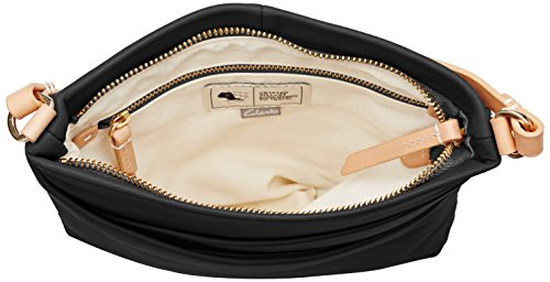 CLARKS Clarks Crossbody Bag Tottington Duo Black Leather Negro (Black Leather)