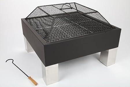 point-garden Feuerschale Grillschale aus Stahl