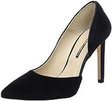 Hannibal Laguna Anlair, Zapatos Mujer, Negro (Terciopelo Negro), 40
