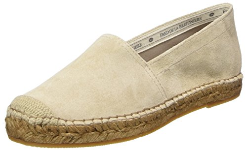 Off slipper White Mujer Para dark La Bretoniere Fred Alpargatas De Gris 1508 Loafer qvqPAw