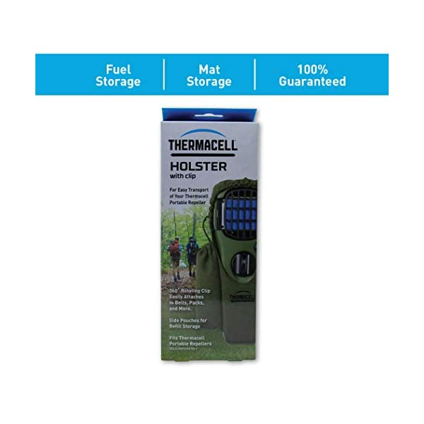 Thermacell MR-H repellente Appliance Holster - Olive 2 spesavip