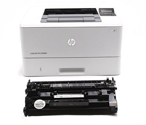 RT M402N MICR Check Printer Package: LaserJet M402N Printer and 1 RT CF226A 26A MICR Toner Cartridge (Micr Laser Check Printer)