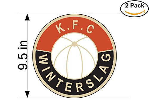 kfc-winterslag-belgium-soccer-football-club-fc-2-stickers-car-bumper-window-sticker-decal-huge-95-in