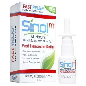 Sinol pulvérisation Headache Relief, tension Cluster Migraine (15 ml)