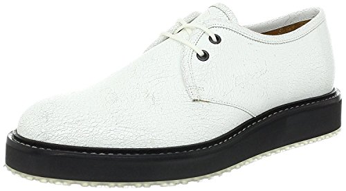 Marc Jacobs Men's Cracked Calf Leather Oxford With Translucent Sole (13 US/46 - Marc Jacob Uk By Marc
