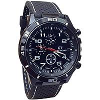 Men Watch, CieKen Ultra Thin Watch Calendar Sport Watches Mens Waterproof Leather Quartz Watch