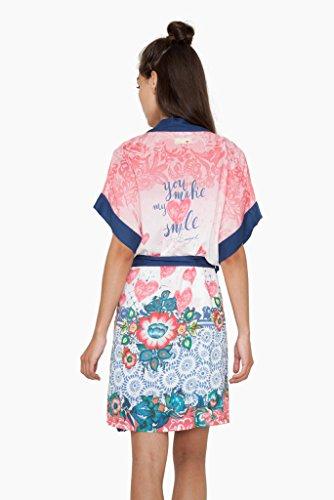 Kimono Rouge Medium Desigual Day Special Small rwxnrSqCW