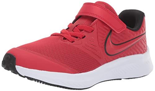 Nike Boys Star Runner 2 (PSV) Sneaker, University Red/Black-Volt, 12.5C Child US Little Kid