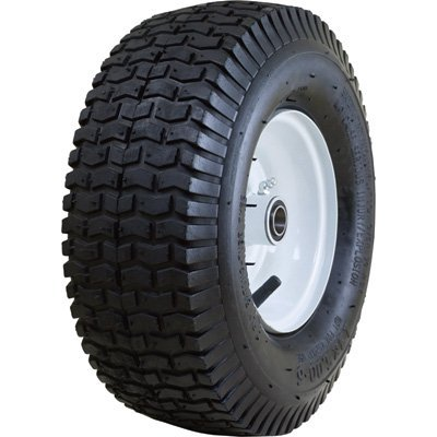 Marathon Tires Pneumatic Tire - 3/4in. Bore, 13 x 5.00-6in.