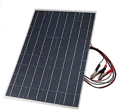 Ningbao Cargador Solar de batería Flexible de 18V 30W Cargador de Panel Solar portátil con Clip