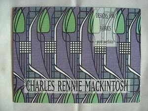 Charles Rennie Mackintosh Designs for Fabrics: Print Portfolio