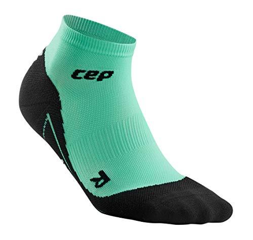 - Women's Compression - CEP Pastel Low Cut Socks, Jump Jade IV