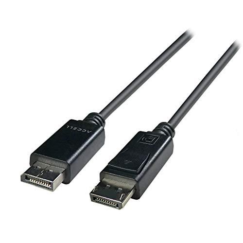 (Accell DP to DP 1.4 - VESA-Certified DisplayPort 1.4 Cable - 6 Feet, HBR3, 8K @60Hz, 4K UHD @240Hz )