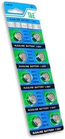 5 X SE AG1 Batteries (Pkg. of 10)