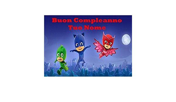 PJ MASKS Super pigiamini cialda de Ostia para tarta ...