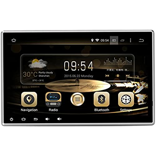 Buy Effort GPS Navigation Android 8.0 Car Stereo CD DVD Player In Dash Radio with 10.1