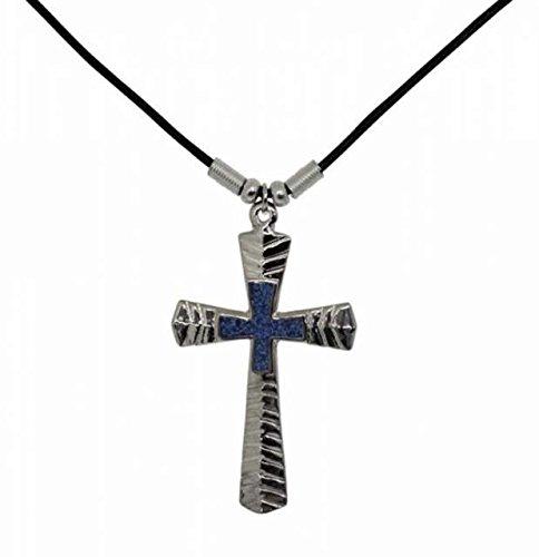 Goth Pendant Cross Necklace