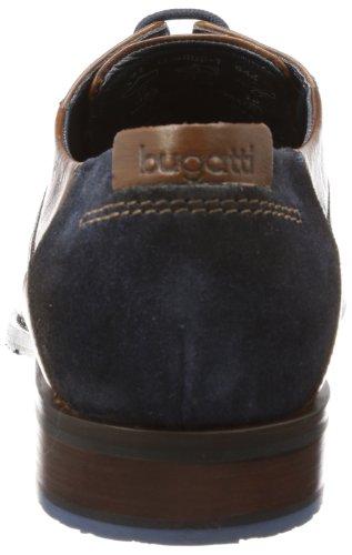 Bugatti U68081 - Oxford de cuero hombre marrón - Braun (cognac 644)