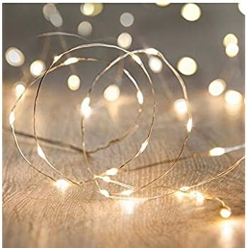 lighting strings. ANJAYLIA LED Fairy String Lights, 10Ft/3M 30leds Firefly Lights Garden Home Party Wedding Festival Decorations Crafting Battery Operated Lights(Warm Lighting Strings D