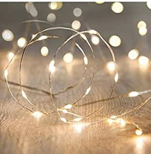Amazon anjaylia led fairy string lights 10ft3m 30leds anjaylia led fairy string lights 10ft3m 30leds firefly string lights garden home party mozeypictures Gallery