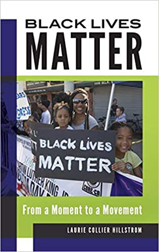 Cover of Black Lives Matter reference book