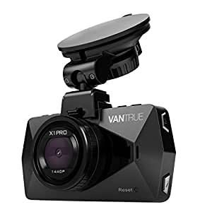 "Vantrue X1 Pro 2.5K Dash Cam Super HD 1440P 30fps 1080P 60fps Dashboard Camera Car Video Recorder w/ 170° Wide Angle, Parking Mode, Super Night Vision, Time lapse, 2.7"" LCD, Motion Detection"