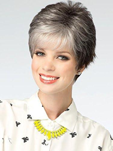 Color gris plata con pelo corto moda vieja caliente mullida ...