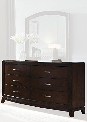 Liberty Furniture Avalon Bedroom 6-Drawer Dresser, Dark Truffle ()