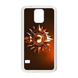 game of thrones 5 Samsung Galaxy S5 Cell Phone Case White Customized Gift pxr006_5317441