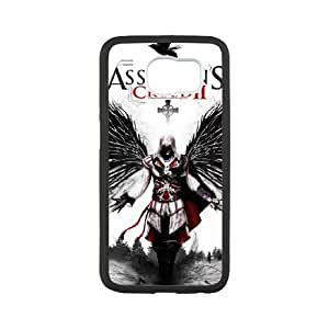 Assassin's Creed Samsung Galaxy S6 Cell Phone Case White DIY Gift pxf005_0242852