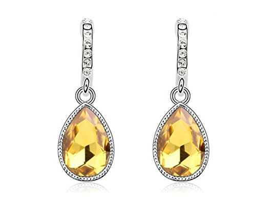 Yellow Austrian Crystal - 4