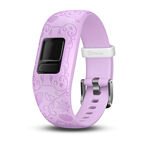 (Garmin vívofit jr 2, Accessory Band Only, Disney Princess, Purple)